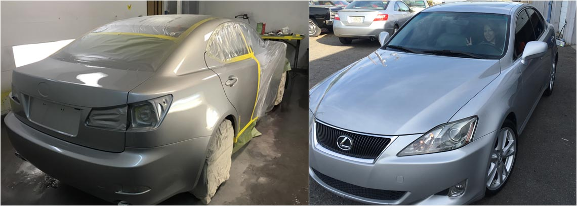 car paint and body work