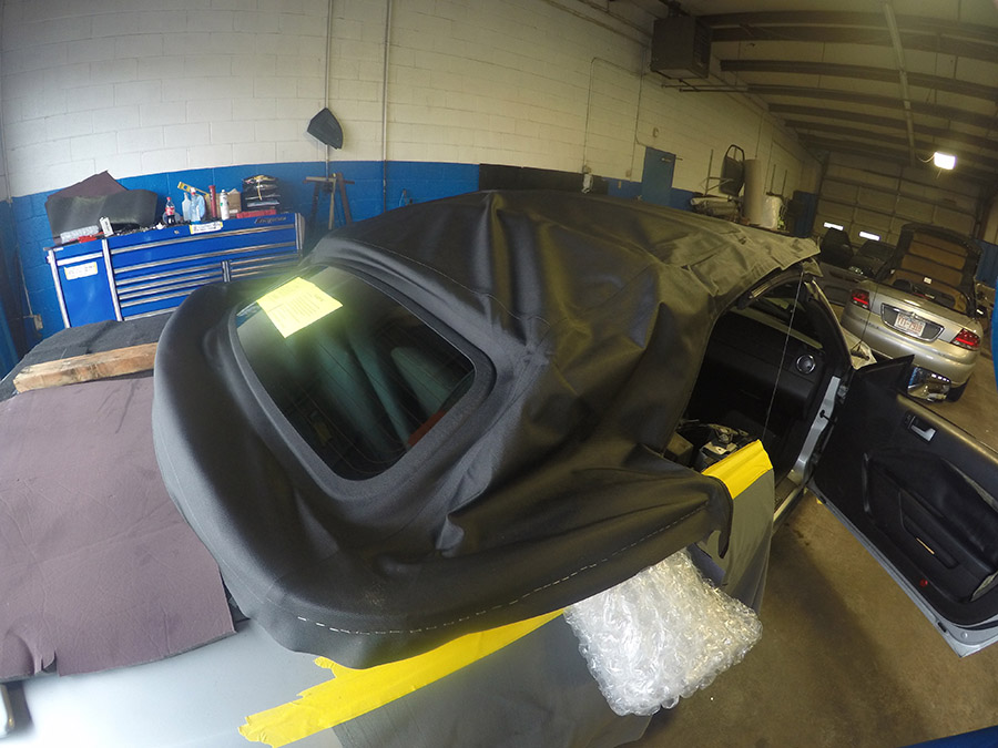mustang convertible top replacement