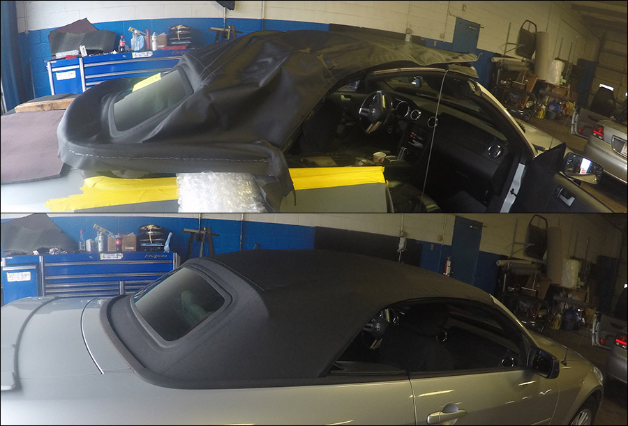 Replacing A Convertible Top Repair And Replacement