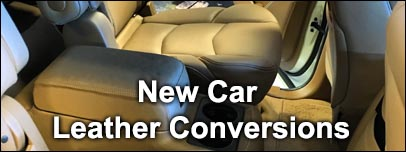 New car leather conversions